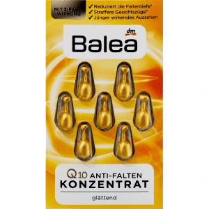 Balea Concentrate Anti-Wrinkle with Q10 & Ginseng Extract, 7 pcs