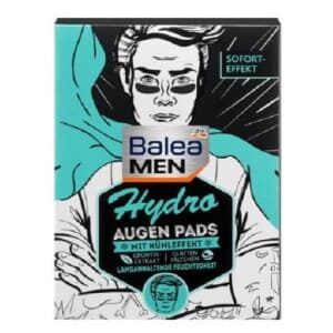 Balea Men Hydro Eye Pads, Hydrate Intensely and Refresh, front 12 pcs