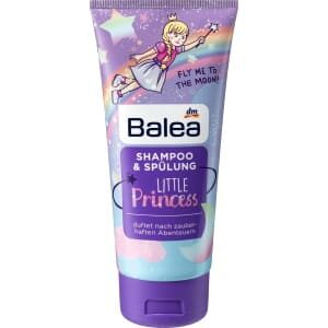 Balea Kids 2 in 1 Shampoo and Conditioner Little Princess